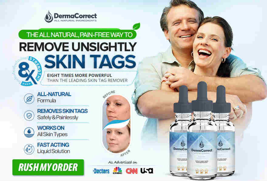 Derma Correct - Best Skin Tags Removal Cream : How to Get Rid of Skin Tags on Face, Neck and Eyelids