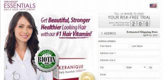 Keranique Hair Vitamins Hybrid : Hair Regrowth Formula