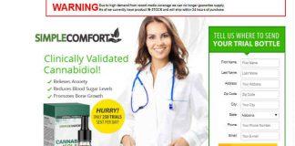 Simple Comfort CBD Review :Hemp Oil Cannabinol