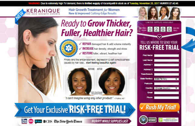 Keranique Free Trial