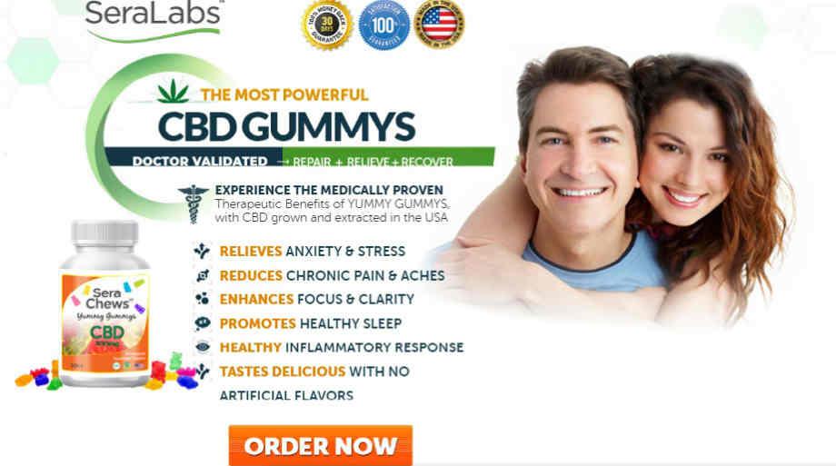 Sera Relief CBD Gummies Review : Full Spectrum CBD Gummies