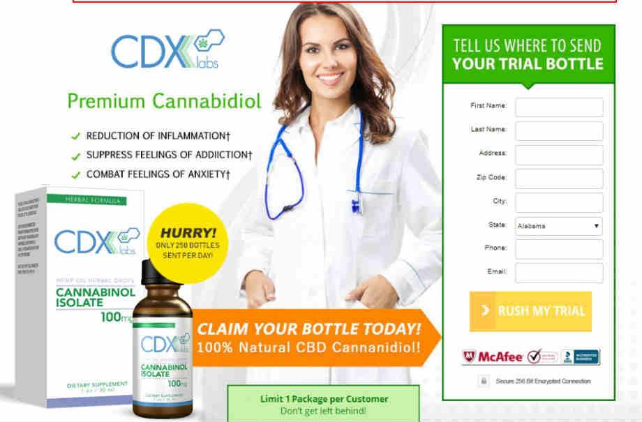 CDX Labs CBD Oil Reviews
