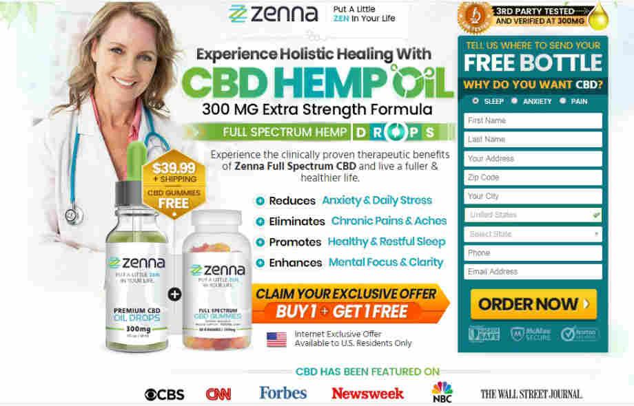Zenna CBD Oil Reviews