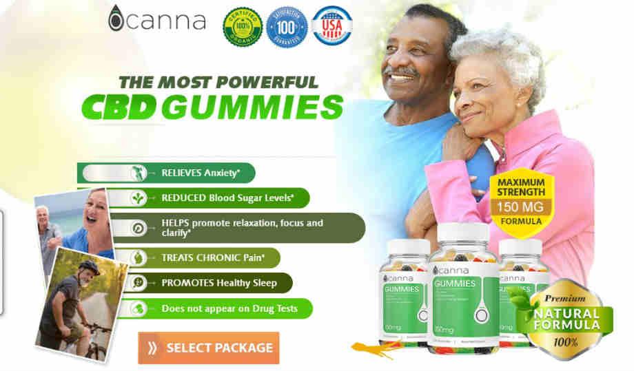 Ocanna CBD Gummies Reviews