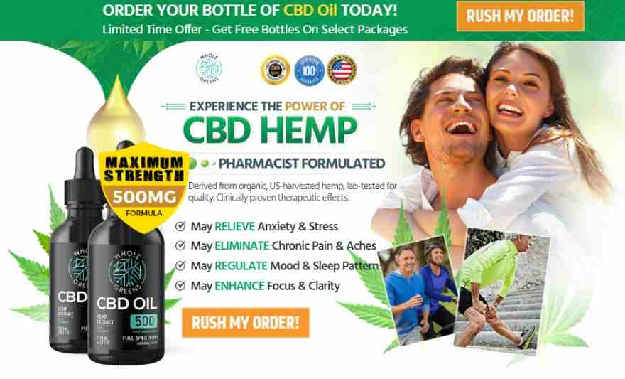 Whole Greens CBD Oil Reviews