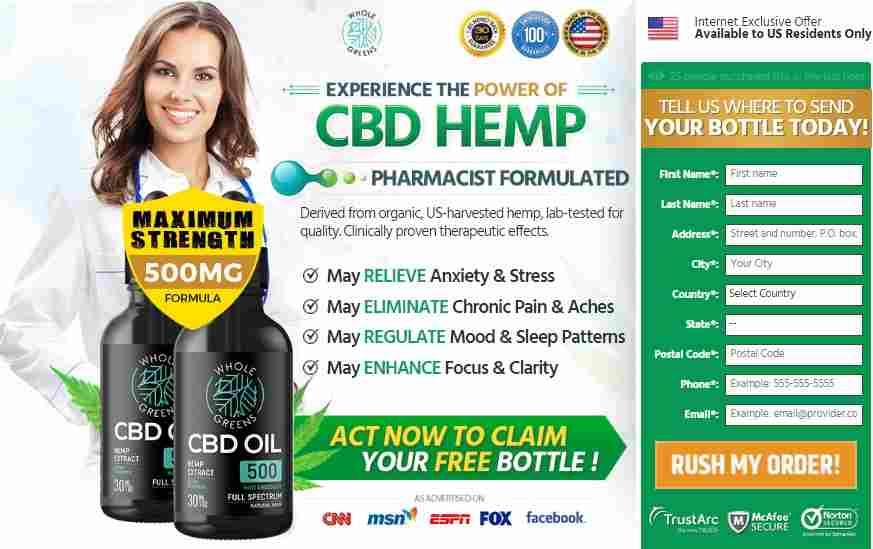 Whole Greens CBD Oil Reviews