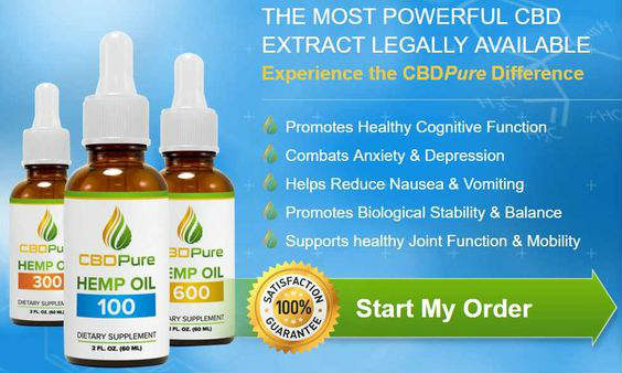 CBDPure CBD Oil Review (2019 Update) CBD Oil For Anxiety & Pain