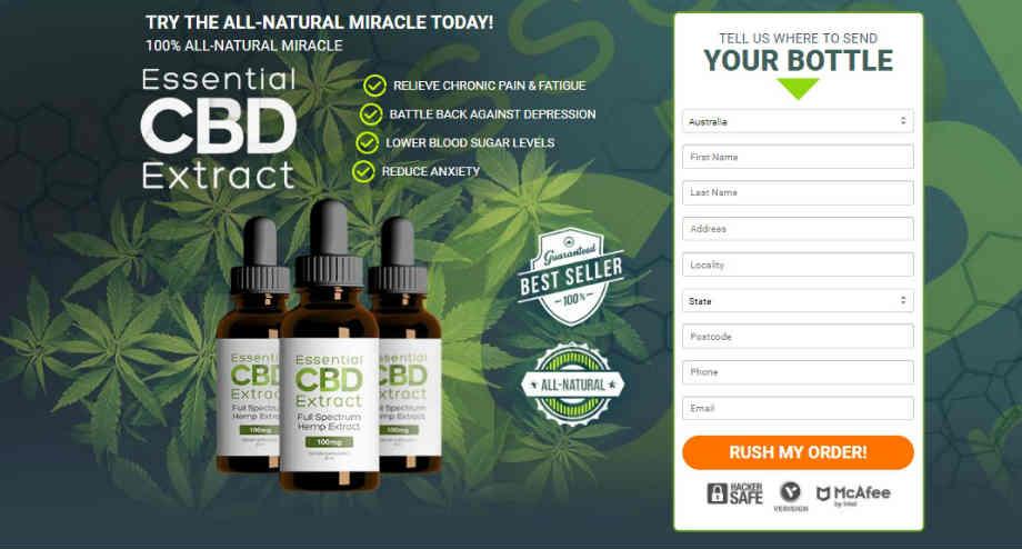 Essential CBD Extract Australia :  Essentials CBD Tinctures Australia