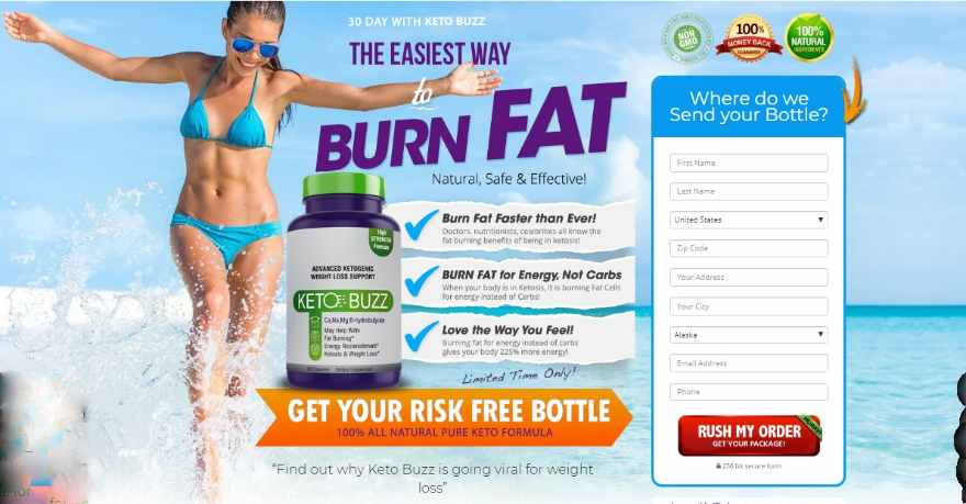 Keto Buzz Reviews : Side Effects, Price & Where To Buy, Benefits