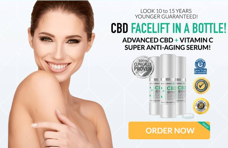 Skin Science CBD Serum :(Update 2019) CBD Anti Aging Serum