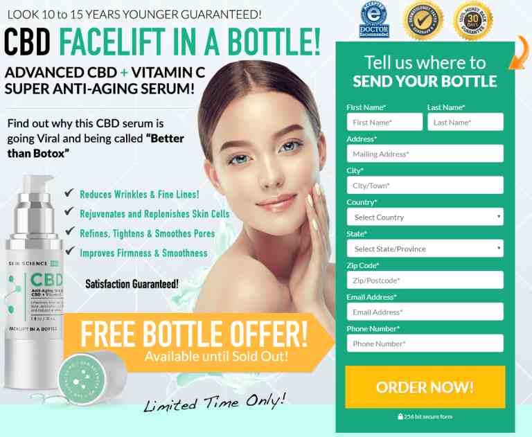 Best Skin Tightening Cream For Face And Neck : CBD Anti Wrinkle Cream