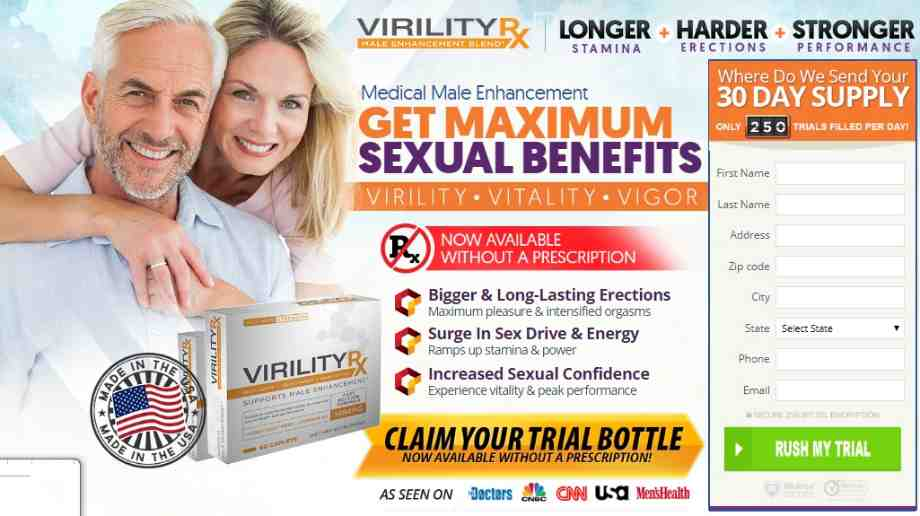 Virility Patch Rx Reviews : Virility Patch RX Male Enhancement Formula