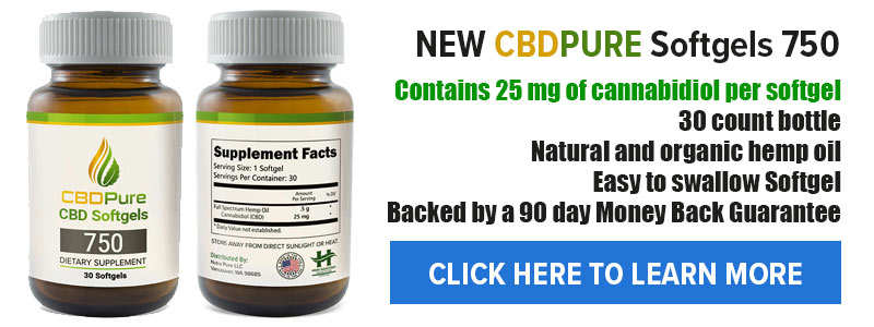 CBD Capsules : Best CBD Pills For Pain, Anxiety & Depression