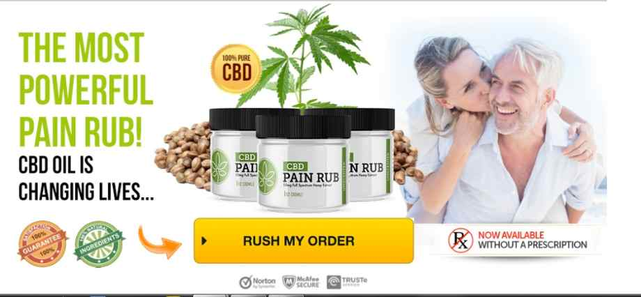 CBD Pain Rub :CBD Cream For Pain Management, Effects And Benefits