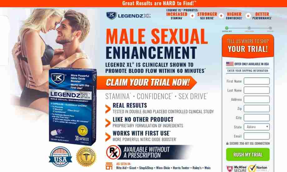 Legendz XL Reviews -  Does This Sex Enhancer For Men Really Work?