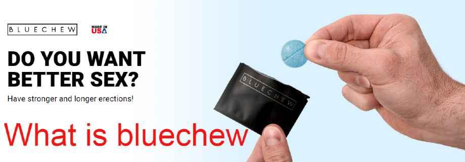 BlueChew Reviews : Is BlueChew the same as Viagra?
