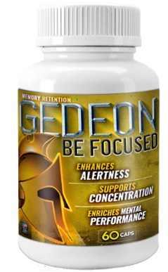 Gedeon Be Focused Bottle  | Brain Supplement Nootropics Booster, best focus pills