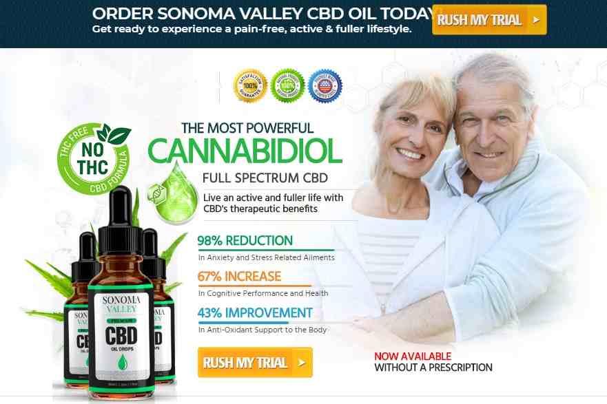 Sonoma Valley CBD Oil Review : sonoma valley cbd oil free trial