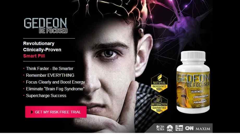 Gedeon Be Focused   Brain Supplement Nootropics Booster, Benefits
