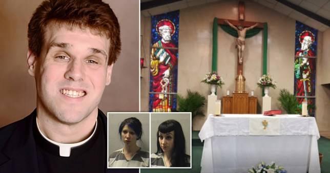 Priest Caught Filming Himself Having Sex On Church Altar