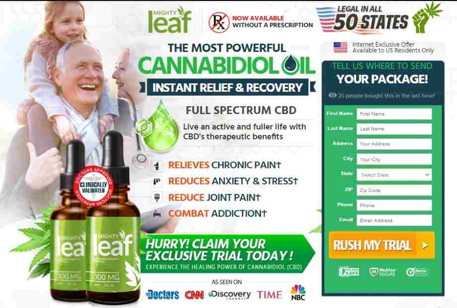 Mighty Leaf CBD Oil Reviews