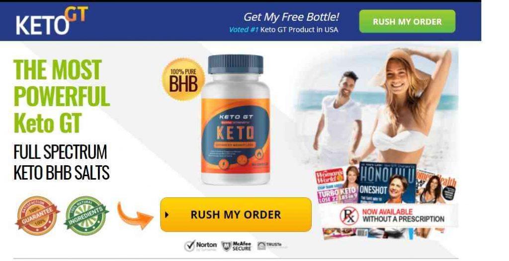 Keto GT Pills Reviews : Best Keto Fat Burner